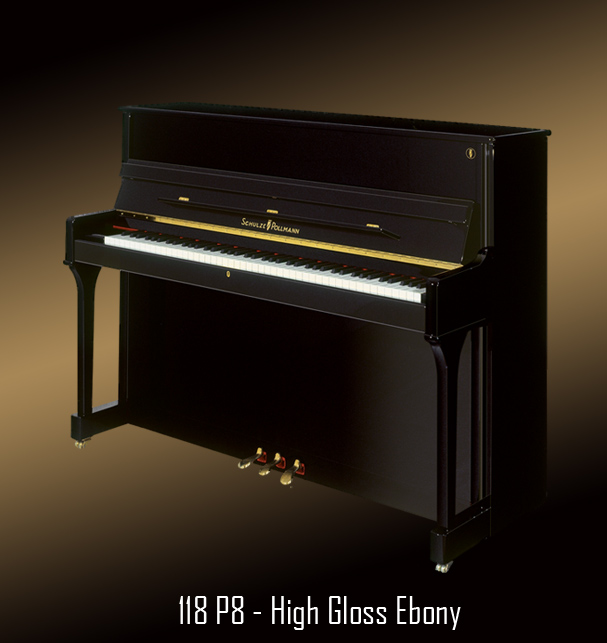 118 P8 High Polished Ebony